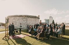 Dating back to 1831, The Roundhouse is the oldest public building in the State of Western Australia. And lucky for couples looking for a wedding venue with some history, this Fremantle heritage spot offers lush lawns dotted with stunning old stone structures.   Photo Credit: Zoe Marley