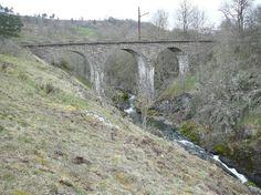 Viaduc du Saillant - cantal - proche du château et de la cascade - entre Neussargues et St Flour