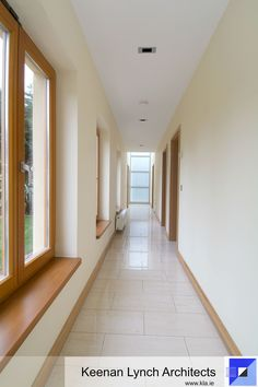 Let the sun shine in. info Spinal hallways allow main rooms to open directly onto the garden. Keenan Lynch Architects find creative solutions to flood homes with natural light. Sun Shine, Lynch, Hallways, Natural Light, Architects, Architecture Design, Stairs, Things To Come, Rooms