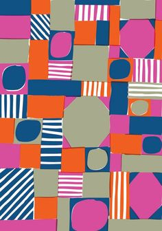 LIke the shapes and stripes intermingled. Marcus Oakley