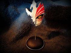 Ichigo mask (Bleach) by Bauxi Bleach, Artisan, Deviantart, Painting, Dekoration, Painting Art, Craftsman, Paintings, Painted Canvas