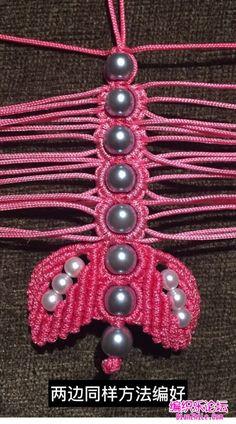 点击查看原图 Beaded Necklace Patterns, Bracelet Tutorial, Pearl Necklace, Pearls, Bracelets, Jewelry, Ideas, Necklaces, Accessories