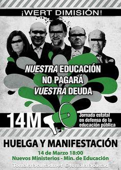 #14M Huelga y Manifestación universitaria #Tomalafacultad