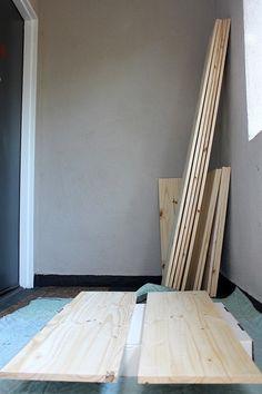How to make a shelf. Diy Mounted Shelving Unit - Step 3
