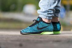 "Nike Flyknit Racer ""Blue Lagoon/Polarized Blue"""