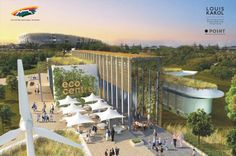 The Smart Living Eco Centre will be built in the Green Point Urban Park. Eos, Urban Park, Under Construction, Marina Bay Sands, Centre, Dolores Park, Places To Visit, How Are You Feeling, Building