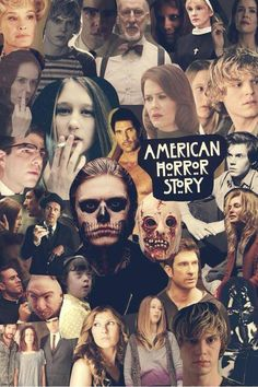 American Horror Story - bloody face scares me i wish he wasnt in here haha