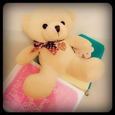 Many thanks to my dearest friends who gave me this guy, Choco. ♡.♡