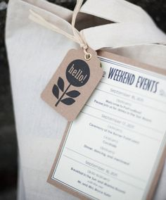 Make The Most of Their Arrival: Welcome Bag Ideas » Alexan Events | Denver Wedding Planners, Colorado Wedding and Event Planning