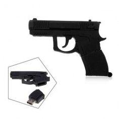 Gun Shaped U Disk, USB Flash Drive