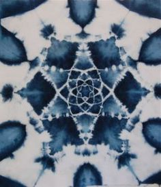 shibori girl mandala workshop