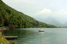Lake Annecy, Francia