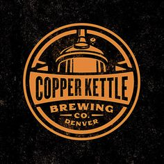 Copper Kettle Mexican Chocolate Stout logo by Emrich Design.