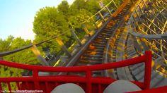American Thunder (HD POV) Six Flags St. Louis