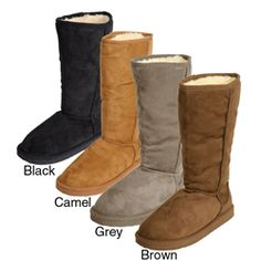 @Overstock - Be up-to-date with these comfortable Glaze by Adi microsuede mid-calf bootsKeep your toes warm and stylish with this fashionable women's footwearDurable boots are the perfect accent for almost any outfithttp://www.overstock.com/Clothing-Shoes/Adi-Designs-Womens-Microsuede-Mid-calf-Boots/2691136/product.html?CID=214117 $35.99
