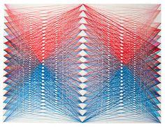 I don't know what it is, but I have a thing for string art.  It must be my strange love of geometry.
