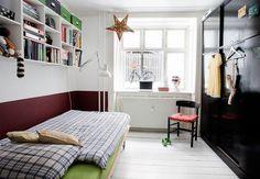 Teenageværelse med plads til privatliv