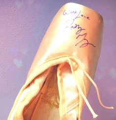 Kathryn Morgan Autographed Pointe Shoes by BalletInTheCity on Etsy