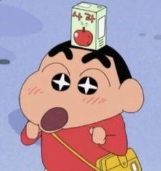 귀엽고 사랑스러운 짱구짤_짱구이미지 165장 : 네이버 블로그 Crayon Shin Chan, Sinchan Cartoon, Cartoon Characters, Kawaii Anime, Sinchan Wallpaper, Vintage Cartoons, Japon Illustration, Cartoon Profile Pictures, Cute Memes
