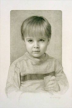 Paul McCormack (powdered graphite and pencil)
