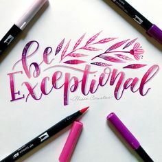 Be Exceptional! for with Tj Thomas. to the with Tj Thomas.design and Chrystal Elizabeth Designs # out of the ordinary