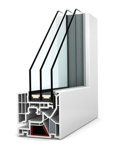Okno PCV - aluminium Internorm Studio KF Izolacyjność cieplna okna do W/m²K. Studio, Aluminium, Magazine Rack, Modern, Shelves, Windows, Storage, Furniture, Home Decor