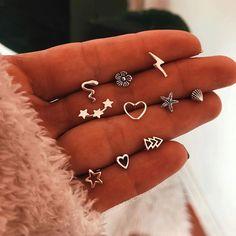 Raw Rainbow Quartz Jewelry, Angel Aura and Rose Gold Earrings, French Ear Wire Dangles, Luxury Wedding Earrings, Rainbow Anniversary - Fine Jewelry Ideas Ear Jewelry, Cute Jewelry, Jewelery, Jewelry Accessories, Rose Gold Earrings, Cute Earrings, Crystal Earrings, Beautiful Earrings, Types Of Ear Piercings