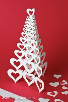 Valentine Heart Tree Tutorial | Ashbee Design