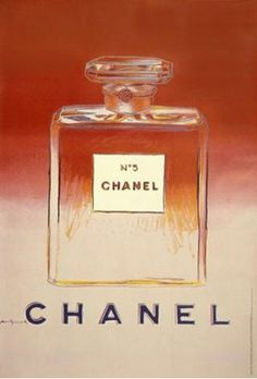 Often given and received as a valentine present, Chanel No 5 was the first perfume launched by the designer way back in 1921. This picture from Warhol is available to buy in store or online:  http://www.vintageposters.us/vintage-poster/Fashion/648/-CHANEL--red-pink--