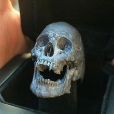 """""""bloodsucking vampire skull ring"""" Into The Fire Jewelry skull rings hand carved by Demitri Bakogiorgis #skull #skulls #skullring #skullrings #skullart #skullpainting #skullpendant #skulljewelry #rebel #rock #outlaw #biker #tattoo #musician #jewelry #skulltattoo #gothic #gothicgirl #witch #witches #warlock #harleydavidson #harley #art #tattooartist #intothefirejewelry #demitribakogiorgis #handcarvedquaility #customknives #copyrights by intothefirejewelry"""