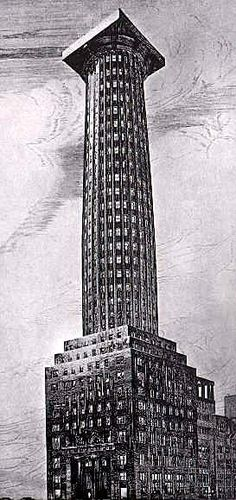 Chicago Tribune Column, Adolf Loos / design 1923