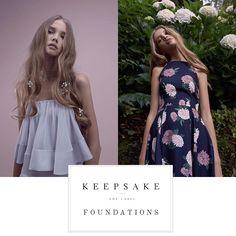 // New Arrivals // @keepsakethelabel 'Foundations' collection is availble online now! #keepsakethelabel #keepsake #keepsakegirl #keepsakelookbook