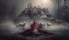 Little Red Riding Hood - A Winter Fairytale by nina-Y.deviantart.com on @deviantART