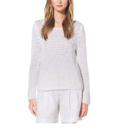 michael kors crochet sweater