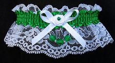 'Fantasy Football' Homecoming Garter to match your dress for the Homecoming dance. Homecoming Garters available in your school colors. Visit: www.garters.com/page38a.htm