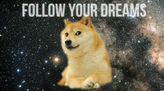 Doge dancing to Bag Raiders - Shooting Stars Dank meme Doge Dog, Doge Meme, Funny Doge, Cute Dog Wallpaper, Wallpaper Desktop, Live Wallpapers, Cool Stuff, Follow Your Dreams Quotes, Thing 1