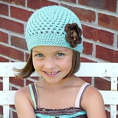 I LOVE these hats!  They're so easy to make and so stinking cute!