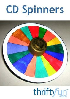 This is a guide about making CD spinners. CDs are ideal for making tops for the kids to play with.