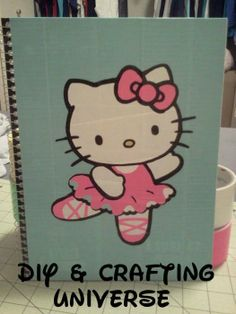 DIY & Crafting Universe www.facebook.com/diycraftinguniverse Etsy: DIY & Crafting Universe Instagram: diycraftinguniverse  Duct Tape Hello Kitty Design Folder Starting Bid: $4.00 Bid Increment: $0.50 Shipping: $5.70 (US Only) Paypal or Etsy
