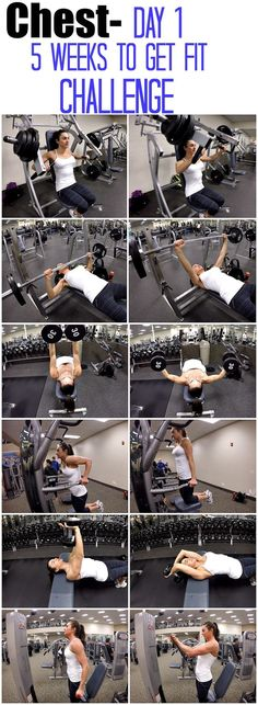Chest Challenge Workout | Posted by: CustomWeightLossProgram.com