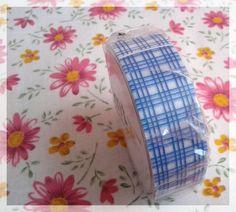 MT tape blue scotch pattern washi tape