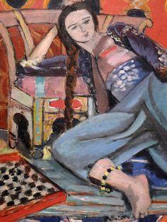 Henri Matisse (1869-1954) Odalisque au fauteuil, dét. (1928) musée dArt moderne de la Ville de Paris au Palais de Tokyo ( Paris, France)musée dArt moderne de la Ville de Paris au Palais de Tokyo ( Paris, France) (by Denis Trente-Huittessan)