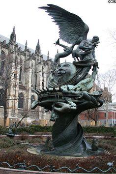 Peace Fountain, Greg Wyatt