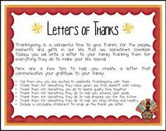 """FREE LANGUAGE ARTS LESSON - """"Letters of Thanks - A Thanksgiving Writing Activity"""" - Go to The Best of Teacher Entrepreneurs for this and hundreds of free lessons. 2nd - 5th Grade #FreeLesson  #LanguageArts  #Thanksgiving http://www.thebestofteacherentrepreneurs.net/2015/10/free-language-arts-lesson-letters-of.html"""