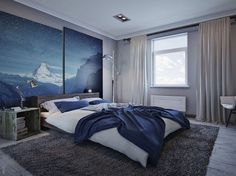 vintage lotus painting photo wallpaper 3d flower wall bedroom ideas with navy blue walls bedroom ideas gray blue walls