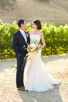 California vineyard wedding: Photography: Vero Suh Photography - verosuh.com   Read More on SMP: http://www.stylemepretty.com/california-weddings/2016/09/15/blush-gold-winery-wedding/