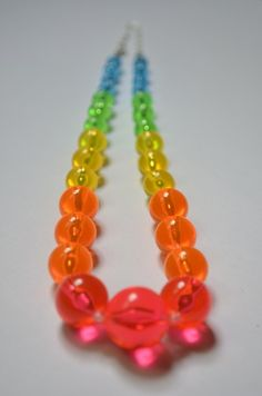 #BidOnTophatter Yummy Candy Summer Necklace! Why yes please - how fun. Starts at 3 in the Jewelry Auction now.