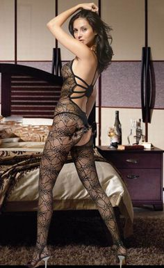 Sexy Flower Lace Sexy Bodystocking Sexy Fishnet Bodystocking Body Stocking
