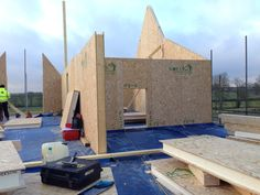Paul Bancroft Architects SIPs House Woodnewton Northamptonshire