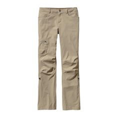 The Patagonia Women's Quandary Pants are a comfortable, multifunctional all-season pant with 40 UPF sun protection and a water repellent finish.